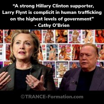 Larry Flynt: Hillary Clinton's Human Trafficking Supplier