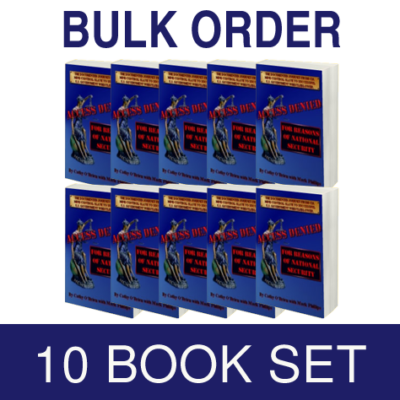 10 Book Set - ACCESS DENIED For Reasons of National Security