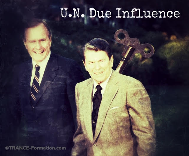 Ronald Reagan - U.N.due Influence