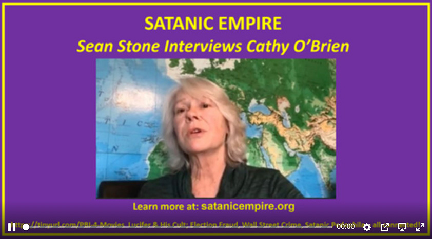 Cathy O'Brien with Sean Stone