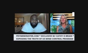 Pryme Minister talks with Cathy O'Brien